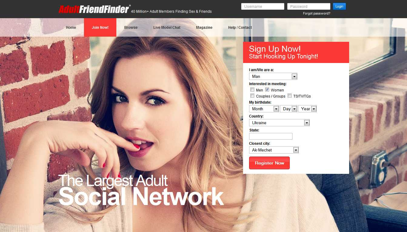 AdultFriendFinder.com website review