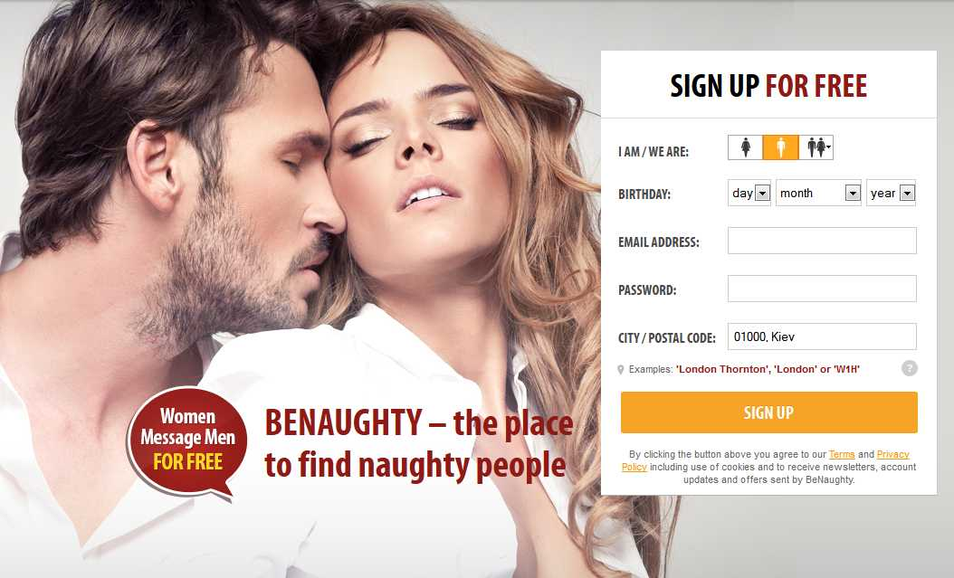 BeNaughty.com dating review